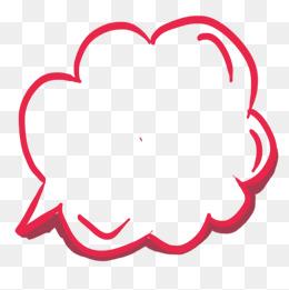 Think bubbles png vectors. Boxes clipart bubble