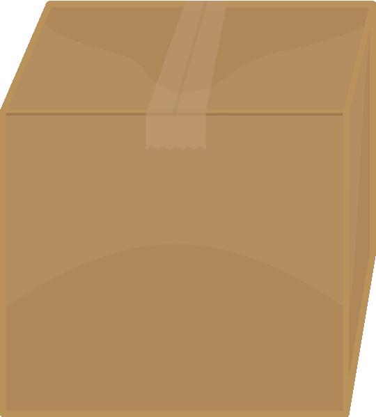 Box clipart cardboard box. Elkbuntu clip art at