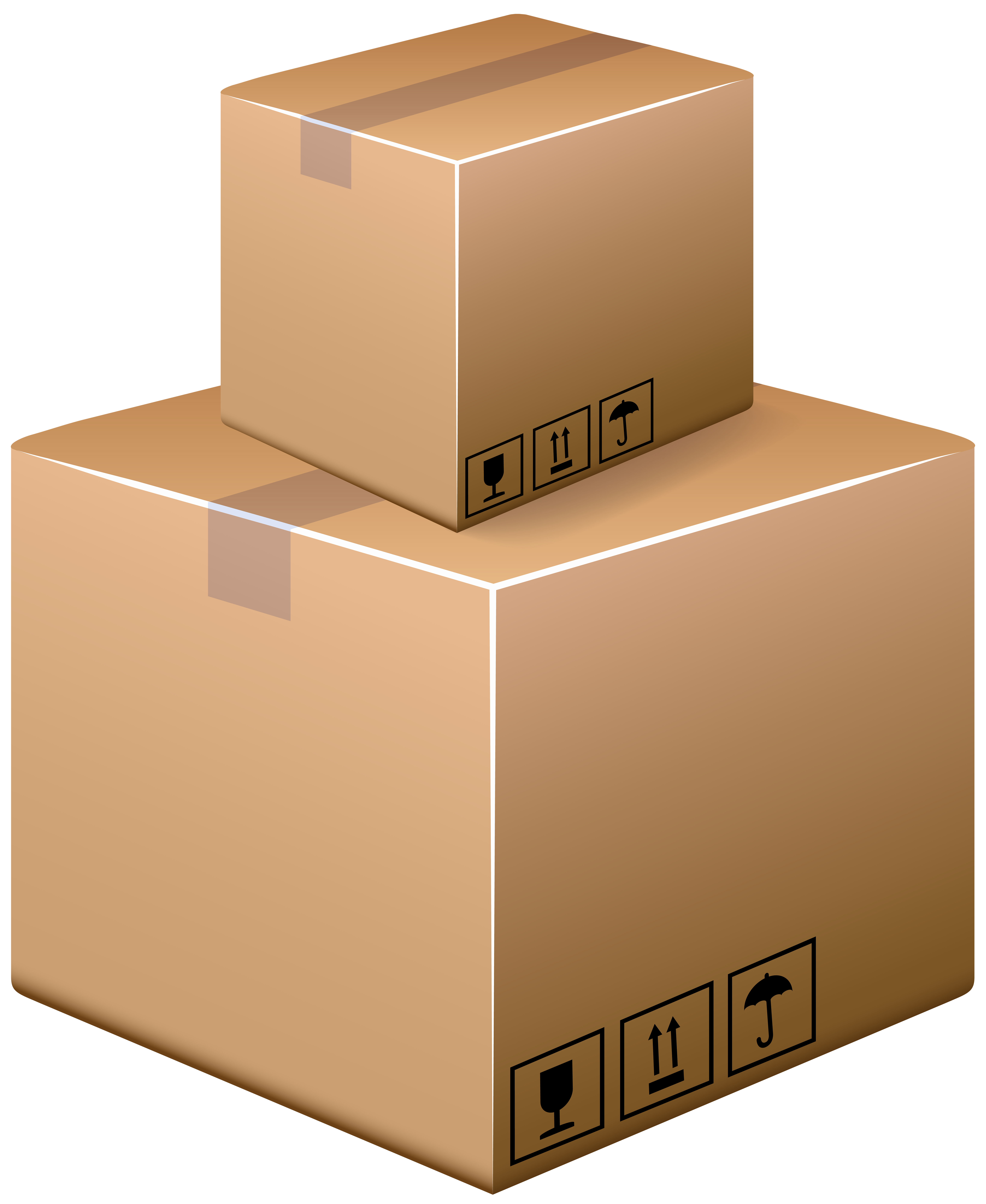 Boxes clipart cardboard box. Png clip art best