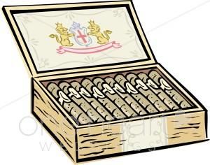 Cigar clipart cigar box. Groom