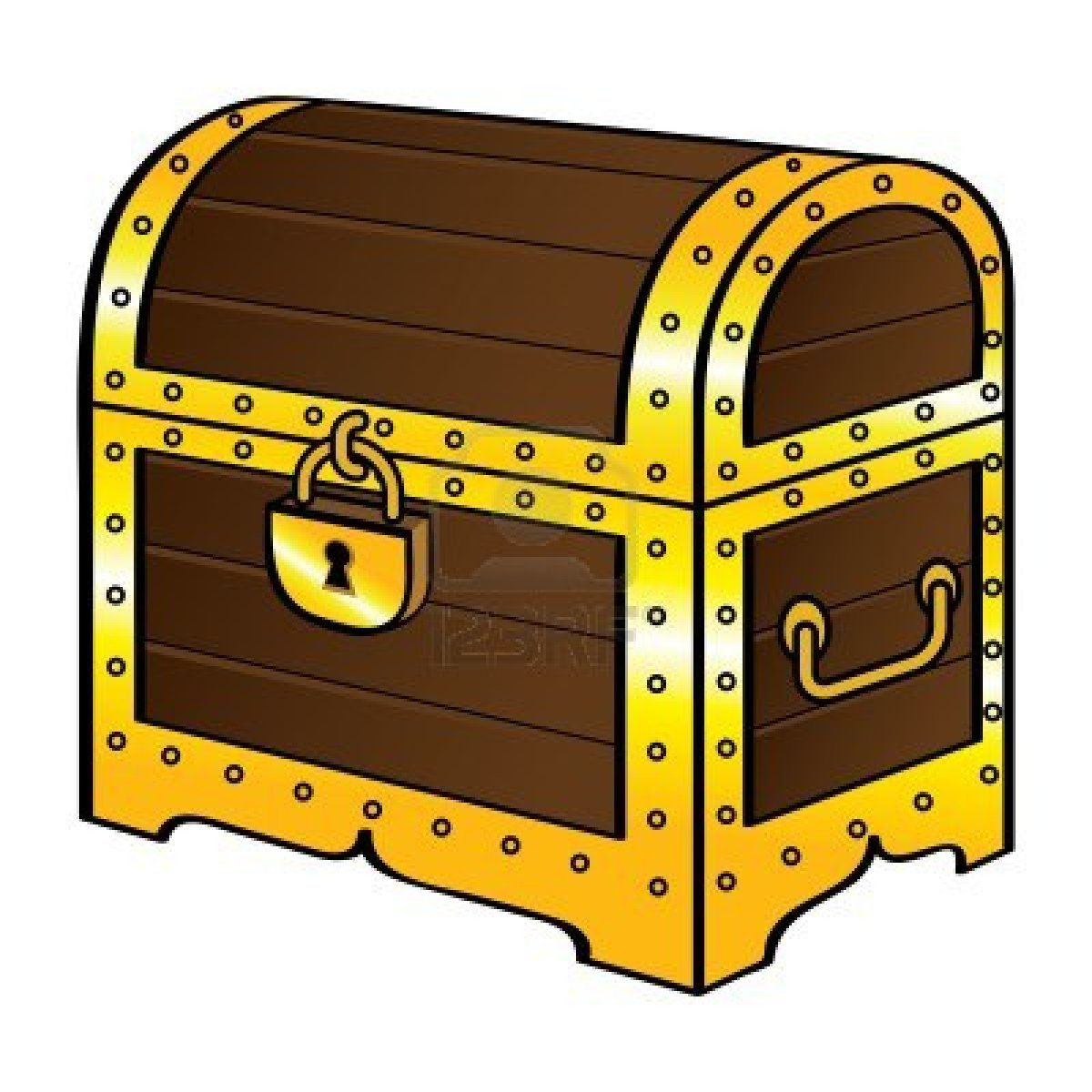 collection of treasure. Boxes clipart tresure