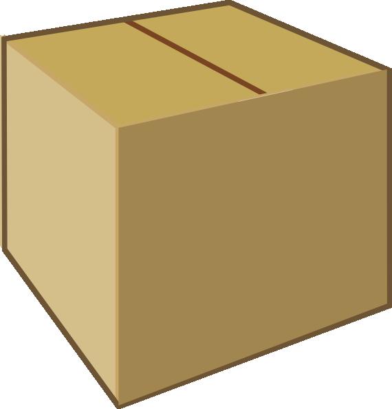 Big . Box clipart closed box