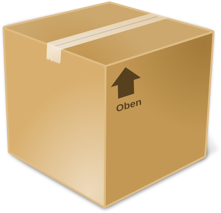 Box clipart closed box.