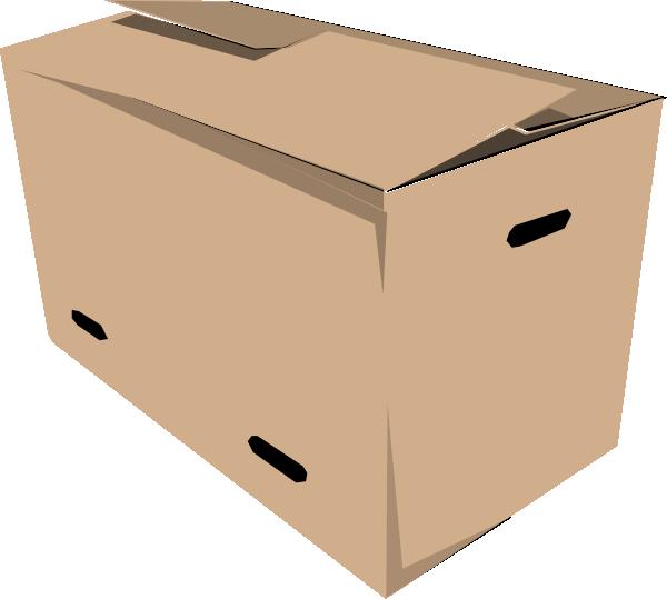 Clip art at clker. Box clipart closed box