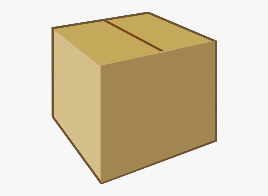 Cardboard clip boxes art. Box clipart closed box