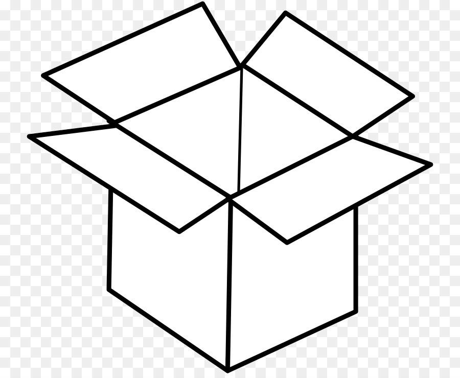 Boxes clipart colouring. Book black and white