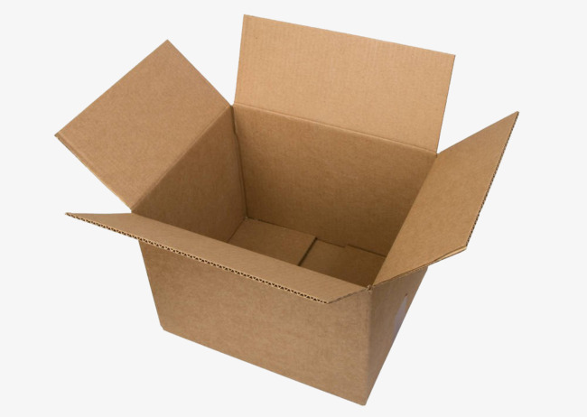 Photography in kind empty. Box clipart corrugated box
