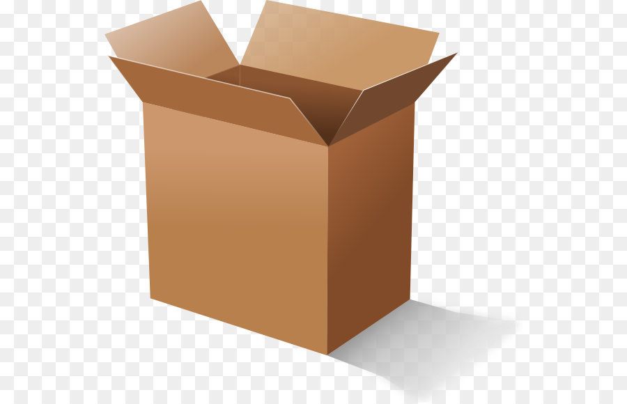 Cardboard clip art open. Box clipart corrugated box