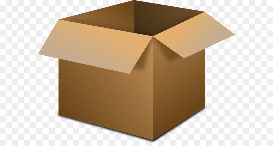 Box clipart corrugated box. Cardboard fiberboard paper open