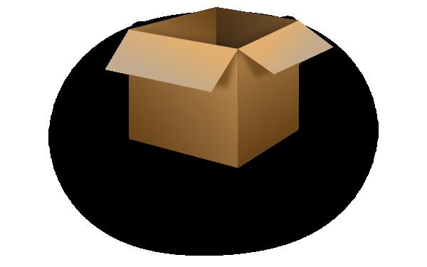 Box clipart corrugated box. Picture of small cardboard