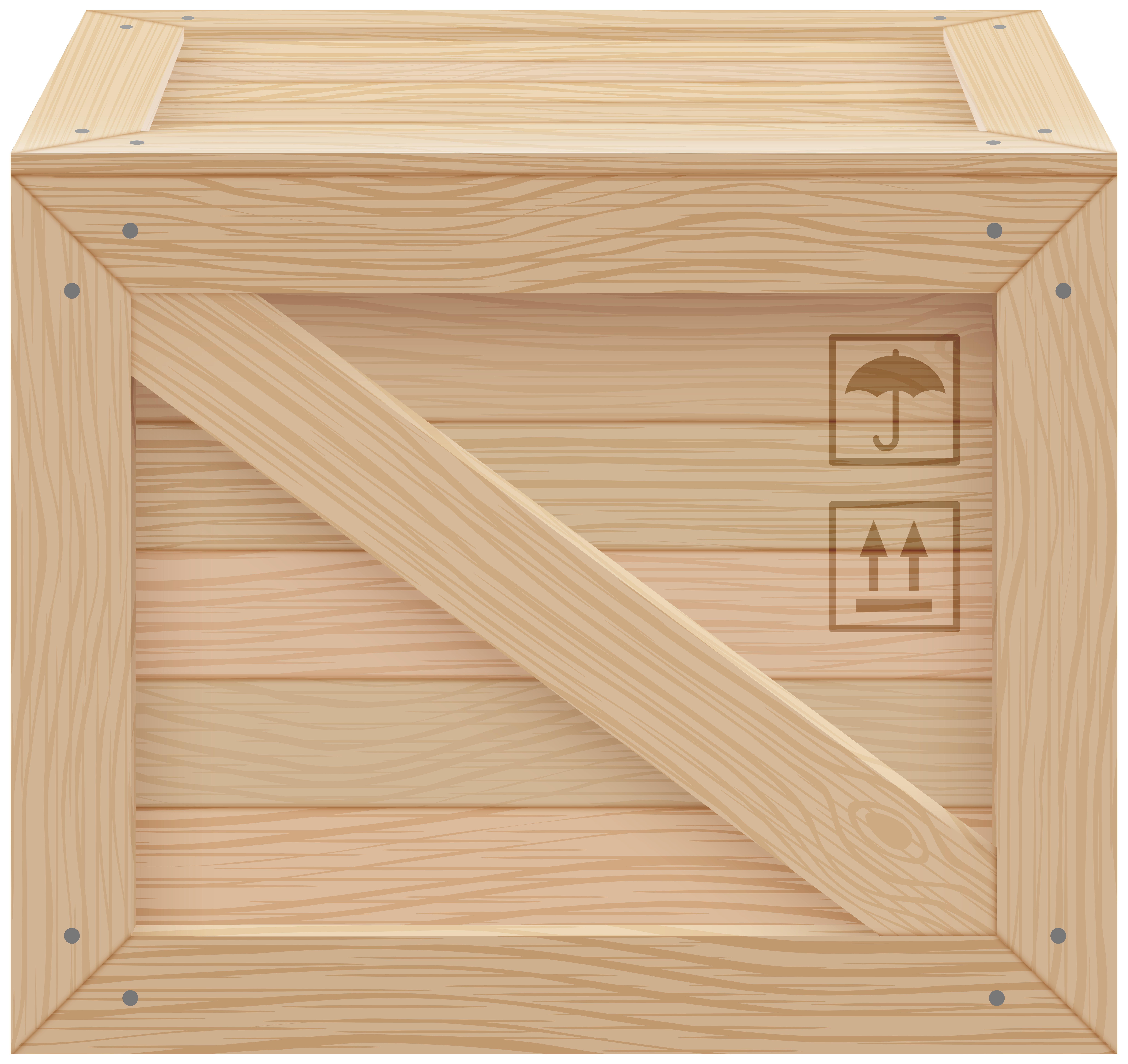 Box clipart crate. Png clip art best