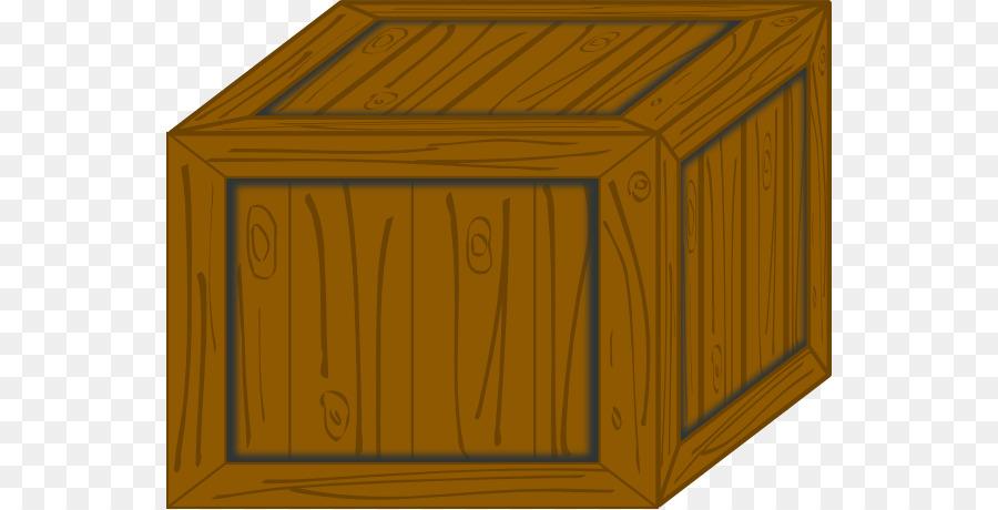 Wooden clip art cliparts. Box clipart crate