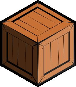 Free cliparts download clip. Box clipart crate