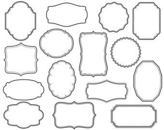Boxes clipart decorative.  awesome text box