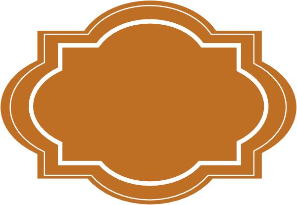 Brown clip art at. Boxes clipart decorative
