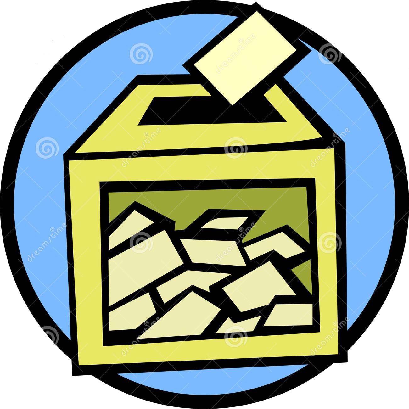 raffle clipart lucky draw box