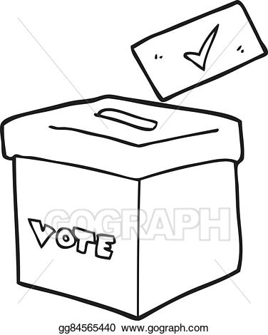 Vector art black and. Boxes clipart drawing