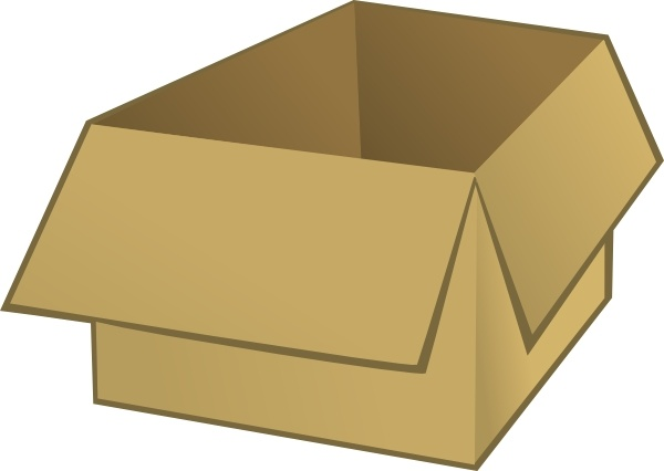 Open at getdrawings com. Box clipart drawing