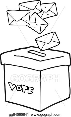 Boxes clipart drawing. Vector art black and