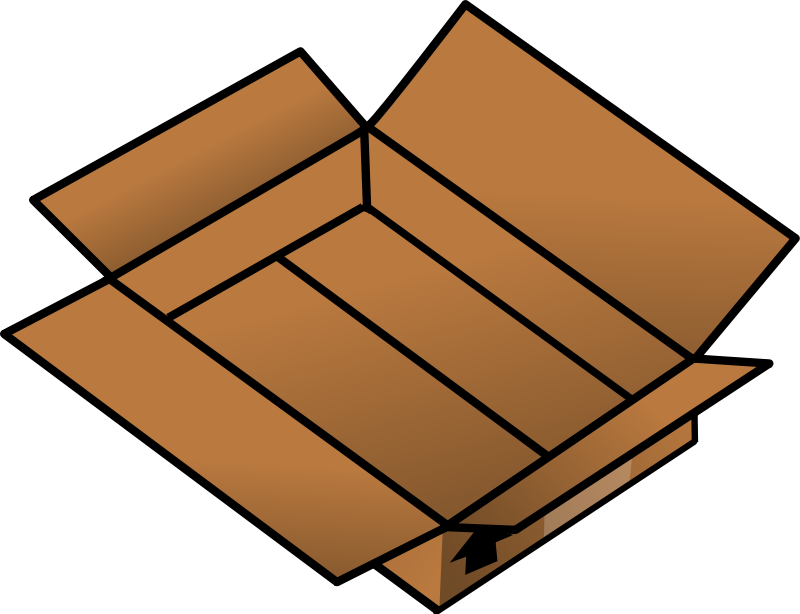 Clip art download panda. Boxes clipart empty box