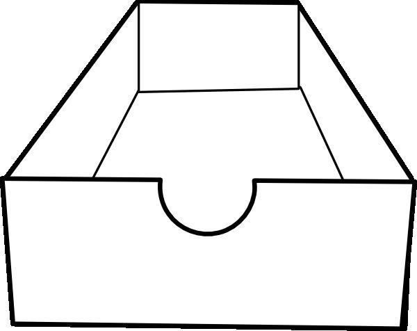 Clip art at clker. Box clipart empty box