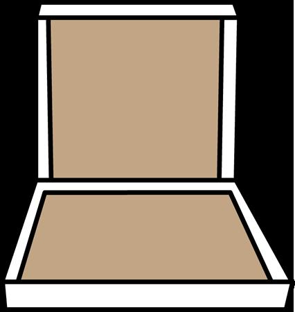 Box clipart empty box. Pizza clip art image