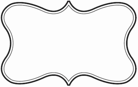 Box clipart fancy. Text fresh shapes template
