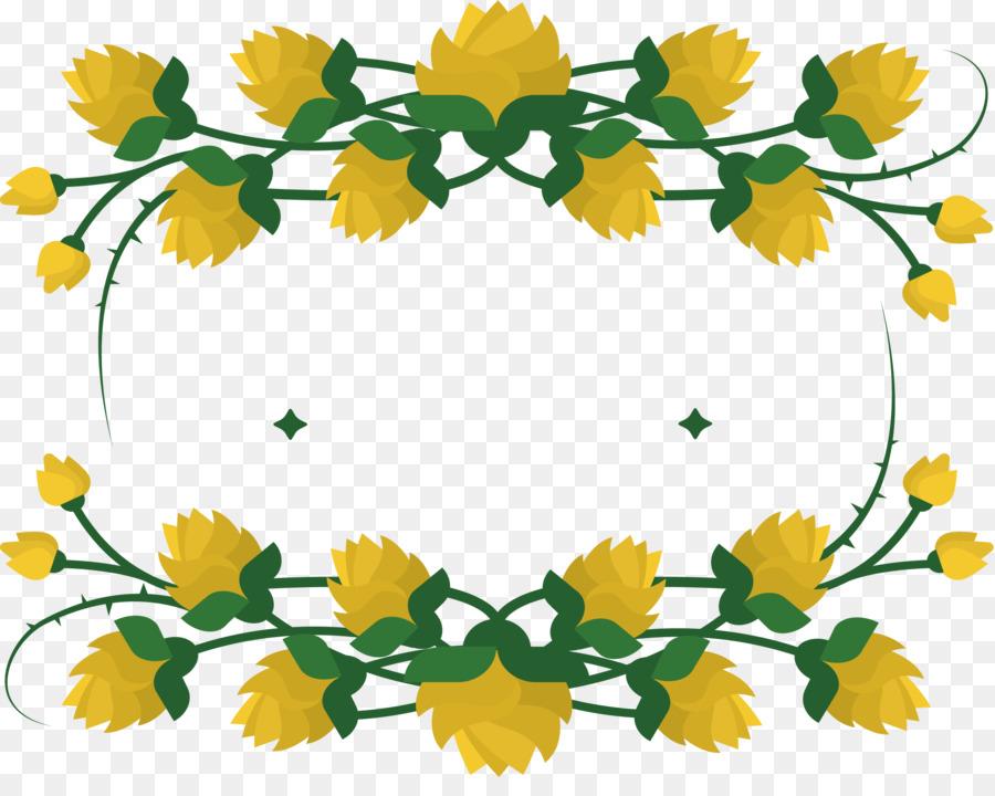 Boxes clipart flower. Floral design yellow clip