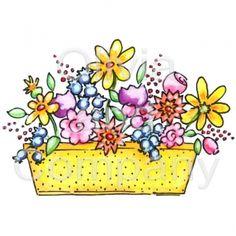 Window box . Boxes clipart flower