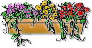Box . Boxes clipart flower