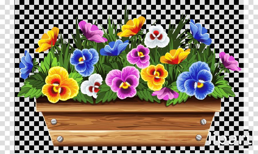Floral background illustration box. Boxes clipart flower