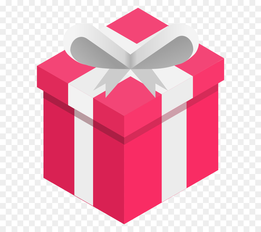Cartoon red transparent clip. Box clipart gift