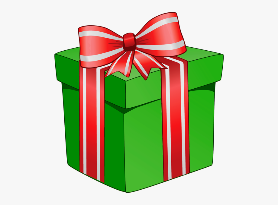 Clipart present prsent. Gift closed box christmas