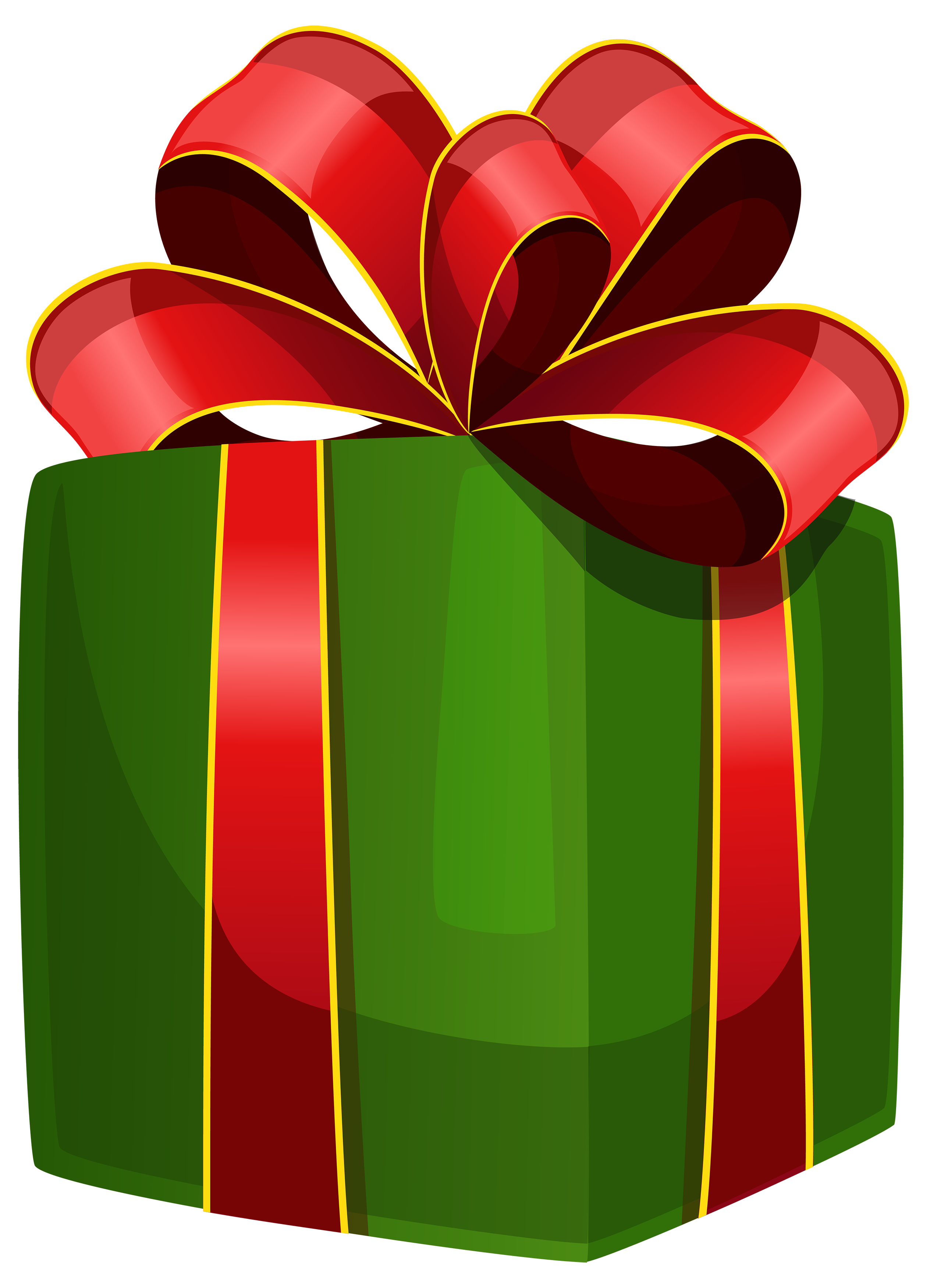 Green box best web. Clipart png gift