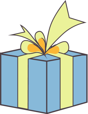 Box clipart gift. Free download clip art