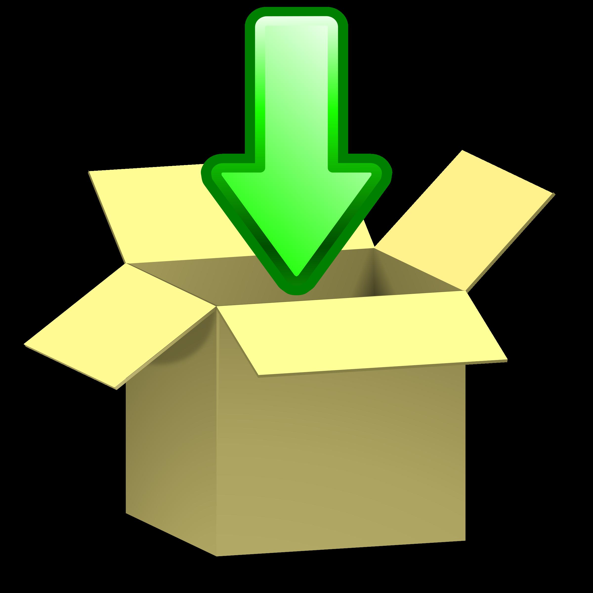 Box clipart icon. Download