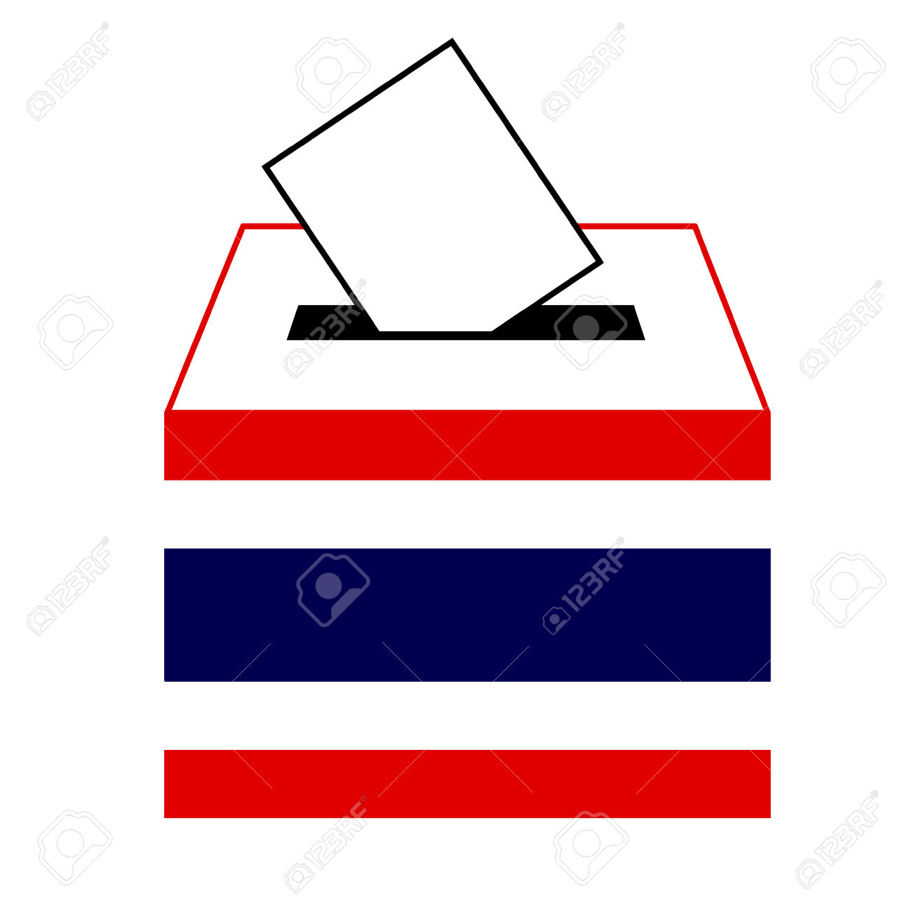 Box clipart icon. Voting icons