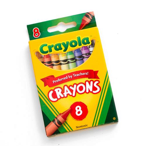 Crayon clipart packet. Crayola washable large crayons