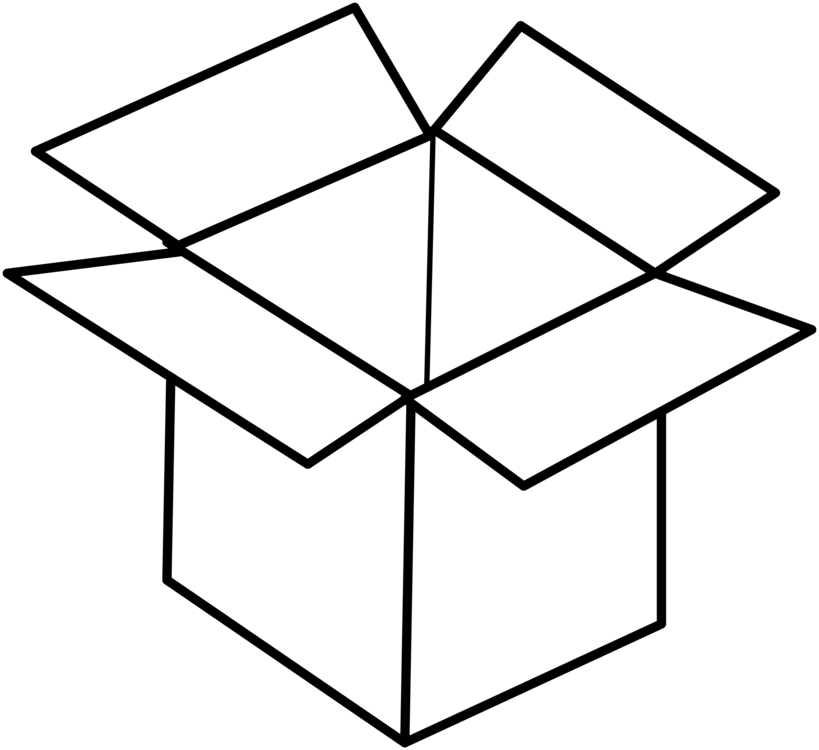 Boxes clipart line drawing. Art square angle png