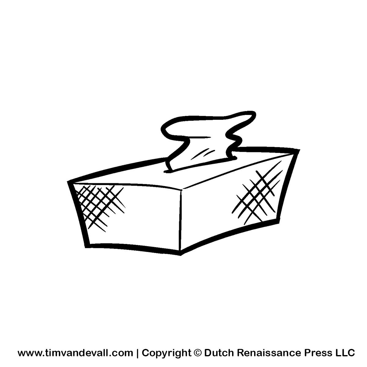 Page tissue box clip. Boxes clipart drawing