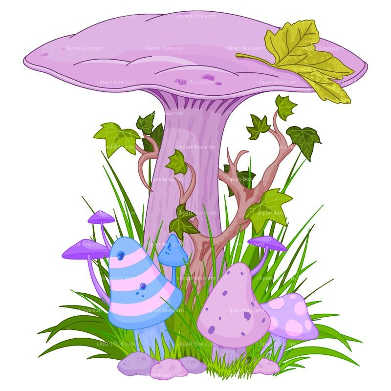 Magical mushrooms and fairies. Gnome clipart psychedelic mushroom