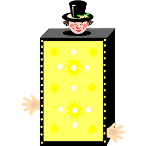Cliparts of free download. Magic clipart magic box
