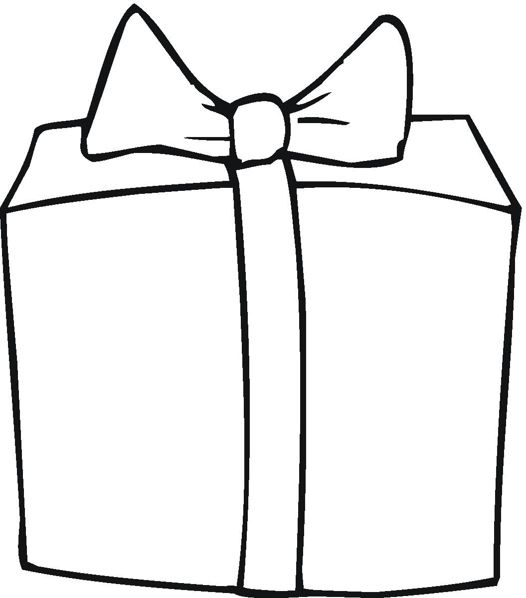 Box clipart outline. Present cliparts free download