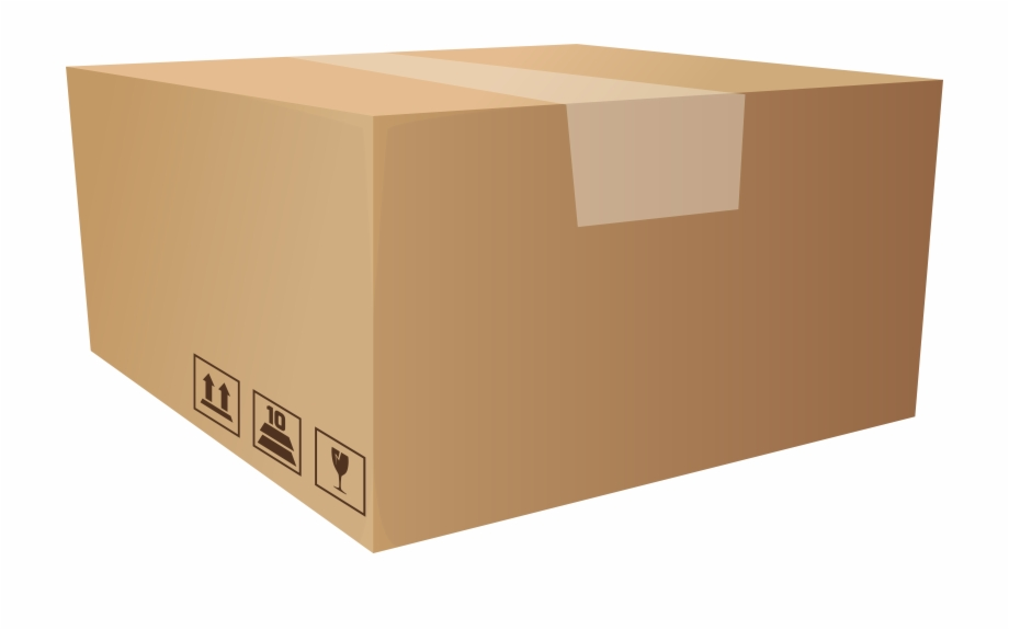Box clipart packaging. Png clip art