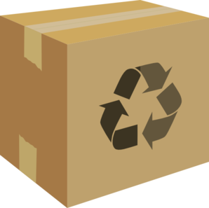 Shipping box clip art. Boxes clipart packaging