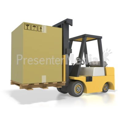 Box clipart pallet. Forklift shipping business and