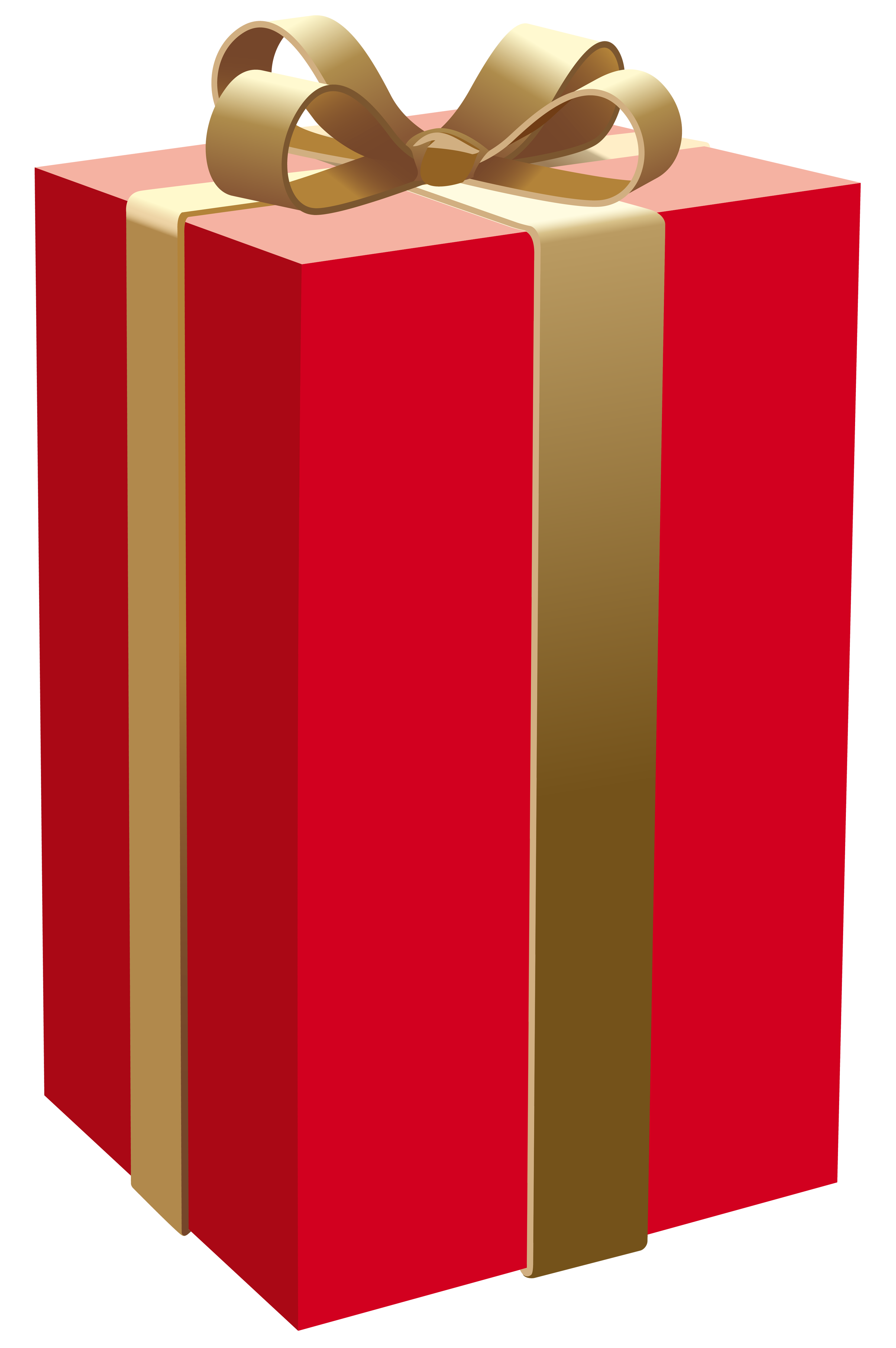 Red gift png best. Clipart box rectangular box