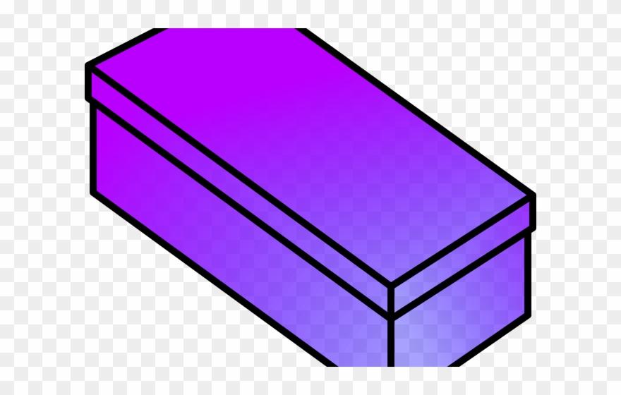 Box clipart rectangular box. Closed shoe