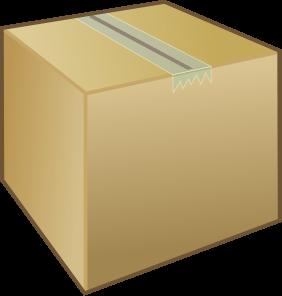 Clipart box shipping box. Cliparts zone