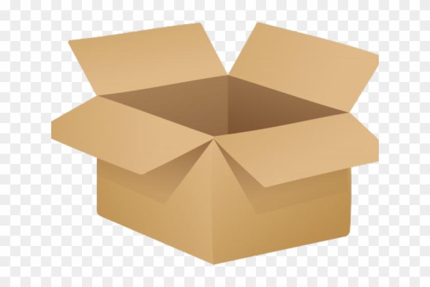 Clipart box shipping box.  free clip art